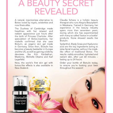 NZ Herald: A beauty secret revealed