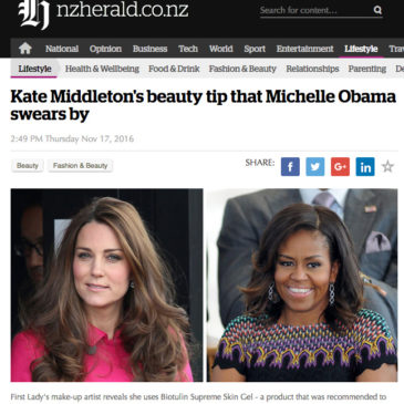NZherald.co.nz: Kate Middleton's beauty tip that Michelle Obama swears by
