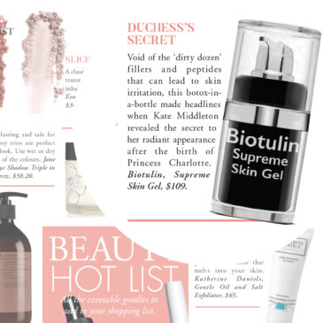 M2Woman: 'Beauty Hot List' – Duchess's Secret