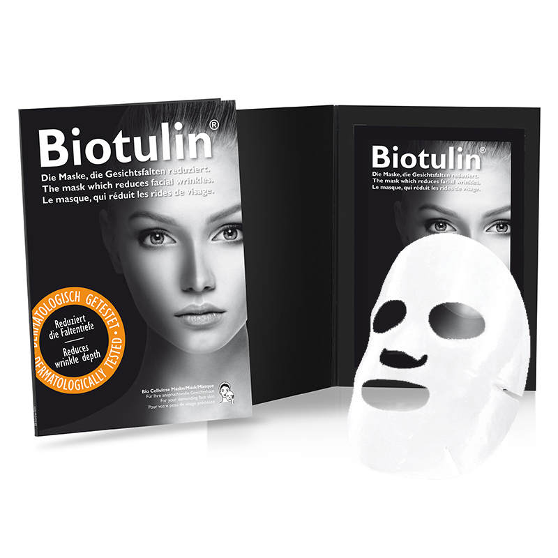 Biotulin® Bio Cellulose Face Masks Single Mask