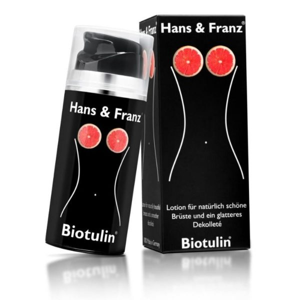 Biotulin® Australia & New Zealand - Biotulin® Hans & Franz Cleavage Smoothing Lotion - Naturally Active, Clinically Proven