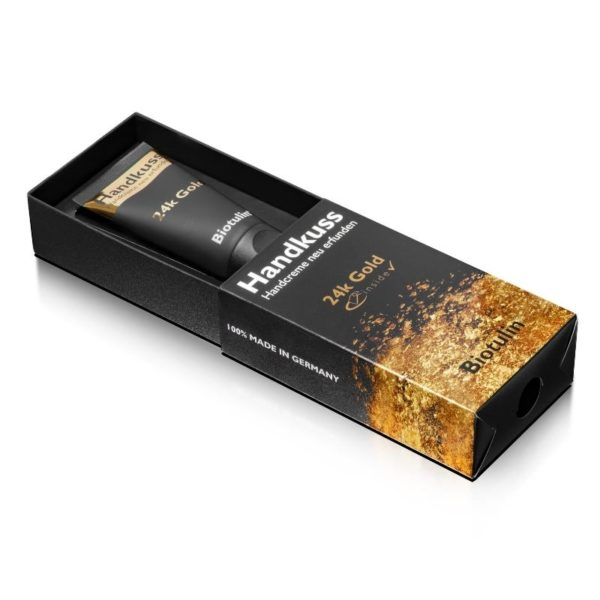 Aesthetikonzept Biotulin AU&NZ - Biotulin Handkiss Smoothing Hand Cream w_ Pack